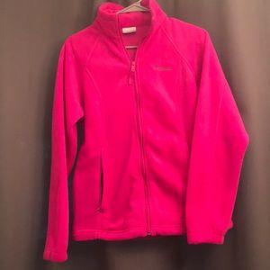 Colombia bright pink fleece